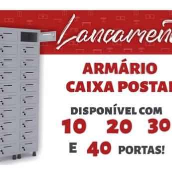 Comprar o produto de ARMÁRIO CAIXA POSTAL em Armários para Escritório em Boituva, SP por Solutudo