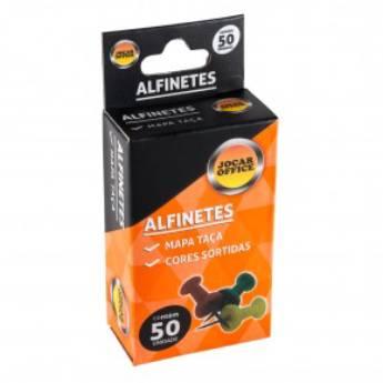 Comprar o produto de Alfinete Cabeça Taça Jocar  em Materiais Escolares pela empresa Eloy Festas em Jundiaí, SP por Solutudo