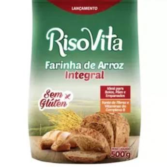 Comprar o produto de Farinha de Arroz Integral S/Glúten ( RISOVITA) em Farinha pela empresa Viva Natural  em Foz do Iguaçu, PR por Solutudo