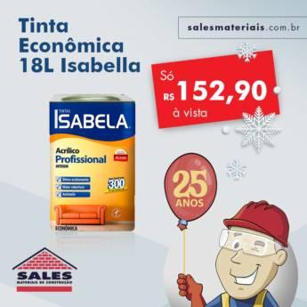 Comprar o produto de Tinta Economica 18 Litros - Isabella em Construção em Botucatu, SP por Solutudo