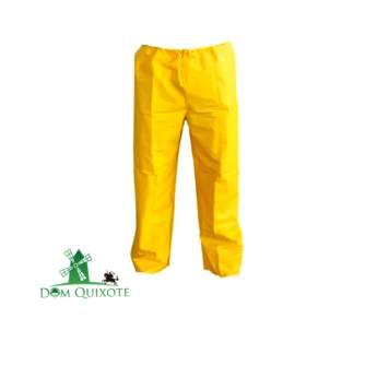 Comprar o produto de Calça de PVC amarelo  em Impermeáveis e descartáveis pela empresa Dom Quixote Equipamentos de Proteção Individual em Jundiaí, SP por Solutudo