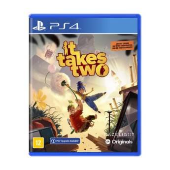 Comprar o produto de It Takes Two - PS4 em Jogos Novos pela empresa IT Computadores, Games Celulares em Tietê, SP por Solutudo
