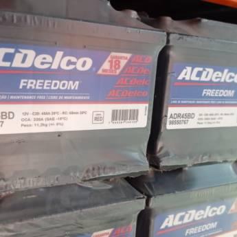 Comprar produto Bateria AcDelco 60AH Original GM em Baterias pela empresa Princal Baterias - Loja 1 em Botucatu, SP