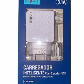 Comprar o produto de Carregador de celular (Tipo B) turbo 3.0A+ em Carregadores em Botucatu, SP por Solutudo