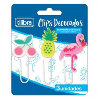 Comprar produto CLIPS DECORADOS 50MM 3 UNIDADES em Outros pela empresa Boa Papelaria e Bazar em Atibaia, SP