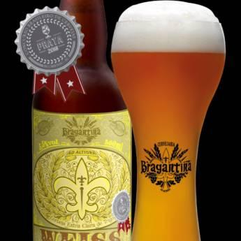 Comprar o produto de Cerveja • Bragantina Weiss em Cervejas em Atibaia, SP por Solutudo