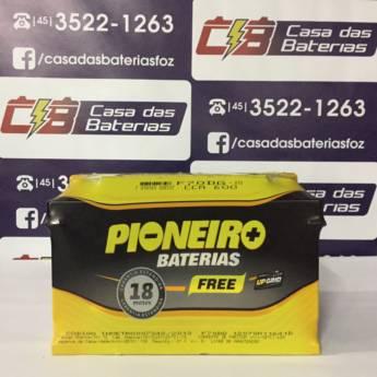 Comprar o produto de Bateria Pioneiro F70DG em 70 a 80 Amperes pela empresa Casa das Baterias em Foz do Iguaçu, PR por Solutudo