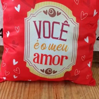 Comprar o produto de Almofadas - Presentes  em Floriculturas em Foz do Iguaçu, PR por Solutudo