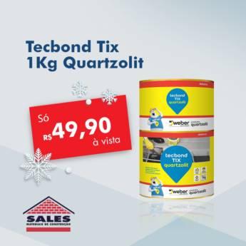 Comprar o produto de Tecbond Tix 1Kg - Quartzolit em Construção em Botucatu, SP por Solutudo