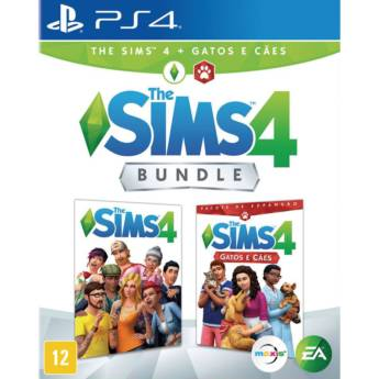 Comprar o produto de The Sims 4 + Cães e Gatos Bundle - PS4 em Jogos Novos pela empresa IT Computadores, Games Celulares em Tietê, SP por Solutudo