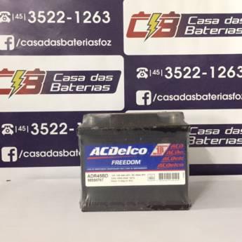 Comprar o produto de Bateria Acdelco ADR45BD em Baterias em Foz do Iguaçu, PR por Solutudo