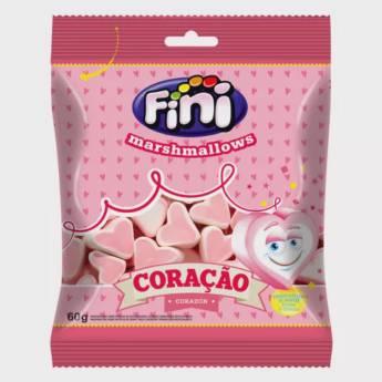 Comprar o produto de Marshmallows Coração Fini em Alimentos e Bebidas pela empresa Eloy Festas em Jundiaí, SP por Solutudo
