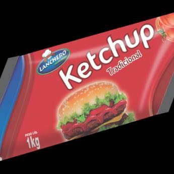 Comprar o produto de ketchup Lanchero Refil 1,05k em Lanches em Botucatu, SP por Solutudo