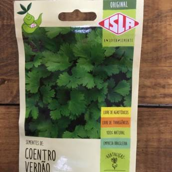 Comprar o produto de semente coentro verdão  em A Classificar em Botucatu, SP por Solutudo