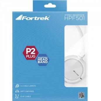 Comprar o produto de Fortrek - Fone de Ouvido HPF-501WT em Eletrônicos, Áudio e Vídeo em Tietê, SP por Solutudo