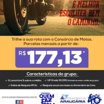 Comprar o produto de Consórcio de Motos em Consórcios pela empresa Twister Intermediação e Agenciamento de Credito - Consórcio Araucária em Foz do Iguaçu, PR por Solutudo