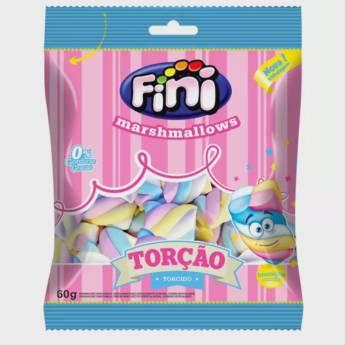 Comprar o produto de Marshmallows Torção Colorido Fini  em Alimentos e Bebidas pela empresa Eloy Festas em Jundiaí, SP por Solutudo