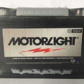 Comprar o produto de Bateria Motorlight 60AH  em Baterias pela empresa Casa das Baterias em Foz do Iguaçu, PR por Solutudo