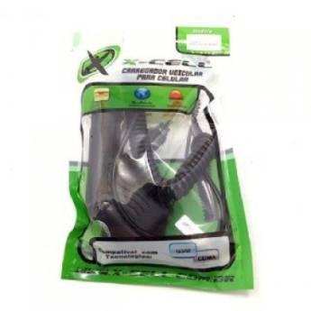 Comprar o produto de Carregador de celular veicular com cabo tipo B (V8) em Carregadores em Botucatu, SP por Solutudo