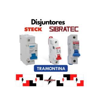 Comprar o produto de Disjuntores Steck e Sibratec em Materiais Elétricos pela empresa Multi Energia Instalações e Materiais Elétricos  em Atibaia, SP por Solutudo