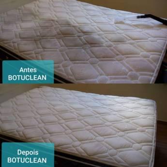 Comprar produto Limpeza e Higienização de Colchões  em Limpeza de Estofados pela empresa Botuclean - Limpeza Profissional de Estofados em Botucatu, SP