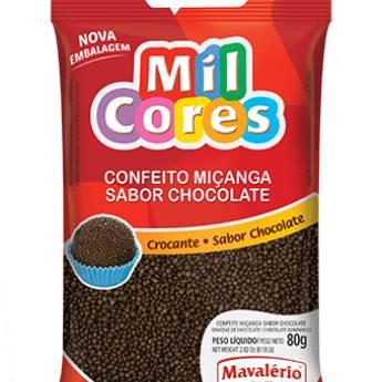 Comprar o produto de Confeito Miçanga Brigadeiro Mavalério em Alimentos e Bebidas pela empresa Eloy Festas em Jundiaí, SP por Solutudo