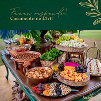 Comprar o produto de Casamento no Civil em Tudo para Festas pela empresa Fazan Buffet em Americana, SP por Solutudo