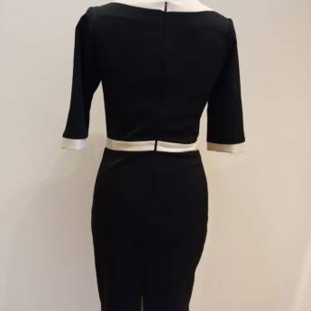 Comprar o produto de Vestido 3/4 MSP em Roupas e Acessórios pela empresa Loja Ego - Moda Feminina Multimarcas em Botucatu, SP por Solutudo