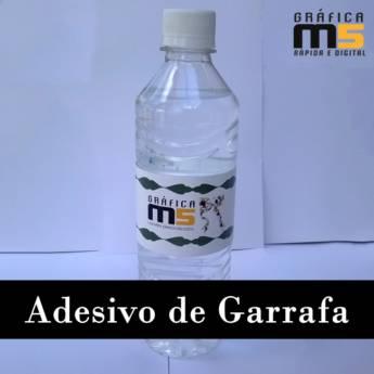 Comprar o produto de Adesivo de garrafa em Gráficas e Impressão em Bauru, SP por Solutudo