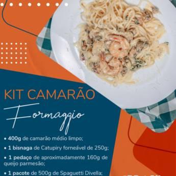 Comprar o produto de Kit Camarão Formaggio em Alimentos em Botucatu, SP por Solutudo