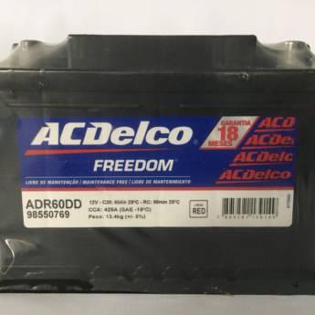 Comprar o produto de Bateria Acdelco 60AH em Baterias pela empresa Casa das Baterias em Foz do Iguaçu, PR por Solutudo