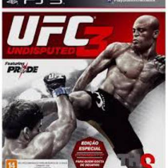 Comprar o produto de Ufc Undisputed 3 - ps3 ( Usado) em Jogos Usados em Tietê, SP por Solutudo
