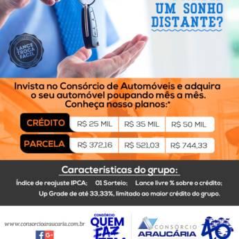 Comprar o produto de Consórcio de Carros em Consórcios em Foz do Iguaçu, PR por Solutudo