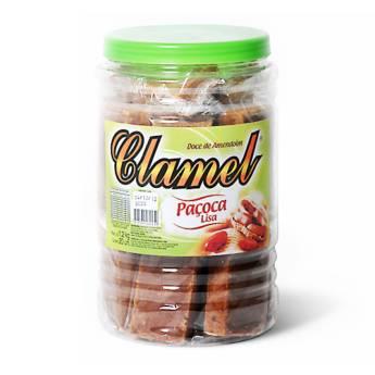 Comprar o produto de Paçoca Lisa Clamel  em Alimentos e Bebidas pela empresa Eloy Festas em Jundiaí, SP por Solutudo
