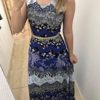 Comprar o produto de Vestido longo florido Griss em Roupas e Acessórios pela empresa Loja Ego - Moda Feminina Multimarcas em Botucatu, SP por Solutudo