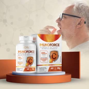 Comprar o produto de ImunoForce Vitamina C, D3, Zinco, Selênio e Magnésio ( Mix Nutri) em Produtos Naturais em Foz do Iguaçu, PR por Solutudo