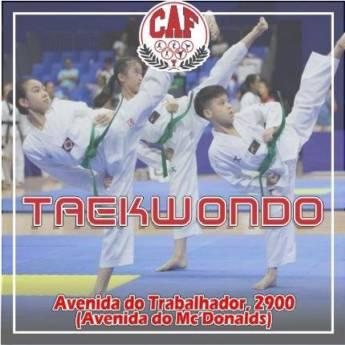 Comprar o produto de Aulas de Taekwondo em Aulas e Cursos Esportivos pela empresa CAF - Centro de Atividade Física em Boituva, SP por Solutudo