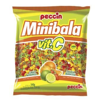 Comprar o produto de Minibala Vit. C Peccin em Alimentos e Bebidas pela empresa Eloy Festas em Jundiaí, SP por Solutudo