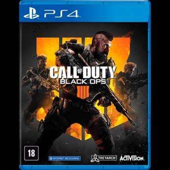 Comprar o produto de Call of Duty: Black Ops IV - PS4 (Usado) em Jogos Usados em Tietê, SP por Solutudo