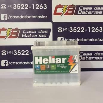 Comprar o produto de Bateria Heliar HF52GD em Baterias em Foz do Iguaçu, PR por Solutudo