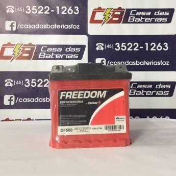 Comprar o produto de Bateria Estacionária Freedom DF500 em Freedom pela empresa Casa das Baterias em Foz do Iguaçu, PR por Solutudo