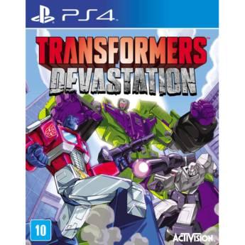 Comprar o produto de Transformers: Devastation - PS4 em Jogos Novos pela empresa IT Computadores, Games Celulares em Tietê, SP por Solutudo