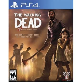 Comprar o produto de The Walking Dead: The Complete First Season - PS4 em Jogos Novos pela empresa IT Computadores, Games Celulares em Tietê, SP por Solutudo