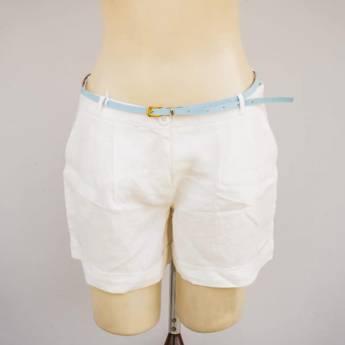 Comprar o produto de Shorts de linho com cinto Le Ricard em Roupas e Acessórios pela empresa Loja Ego - Moda Feminina Multimarcas em Botucatu, SP por Solutudo