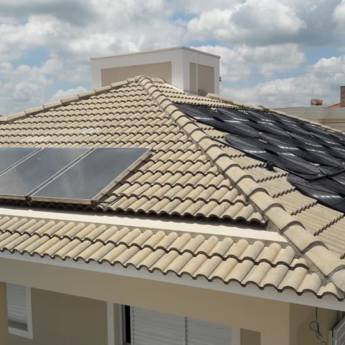 Comprar o produto de Sistema de Aquecimento Solar em Construção em Tietê, SP por Solutudo