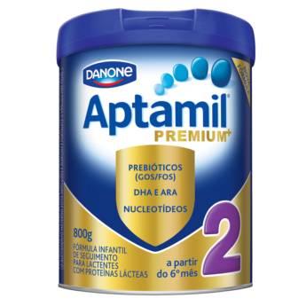 Comprar o produto de Aptamil premium 2 800g em Leite Infantil em Foz do Iguaçu, PR por Solutudo