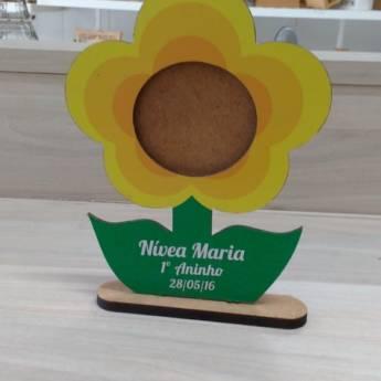 Comprar o produto de Toten de mesa personalizado em MDF em Artesanato em Aracaju, SE por Solutudo