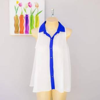 Comprar o produto de Blusa vista Le Ricard em Roupas e Acessórios pela empresa Loja Ego - Moda Feminina Multimarcas em Botucatu, SP por Solutudo
