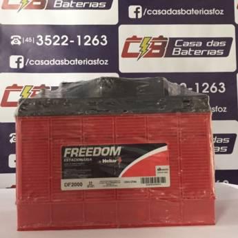 Comprar o produto de Bateria Estacionária Freedom DF2000 em Freedom pela empresa Casa das Baterias em Foz do Iguaçu, PR por Solutudo