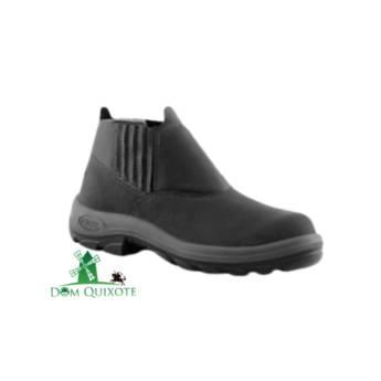 Comprar o produto de Botina de Elástico BOMPEL c/ bico de AÇO em Calçados de segurança pela empresa Dom Quixote Equipamentos de Proteção Individual em Jundiaí, SP por Solutudo